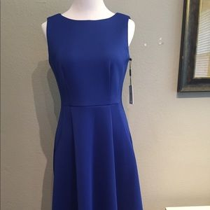 Calvin Klein 4/6 New With Tags Gorgeous Navy Dress